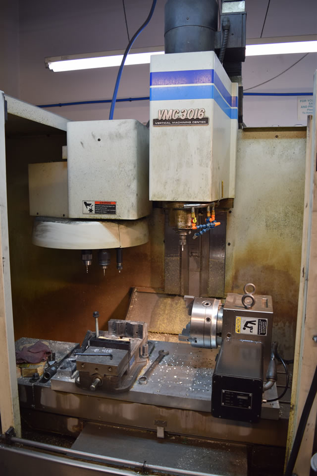 CNC Machining Equipment 4th Axis Mill